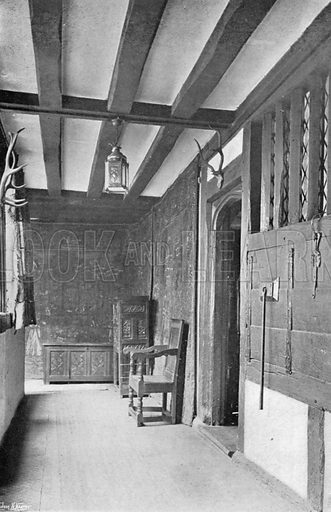The Buttery Hatch. Photograph in In English Homes Vol 1 (Country Life, 1904).