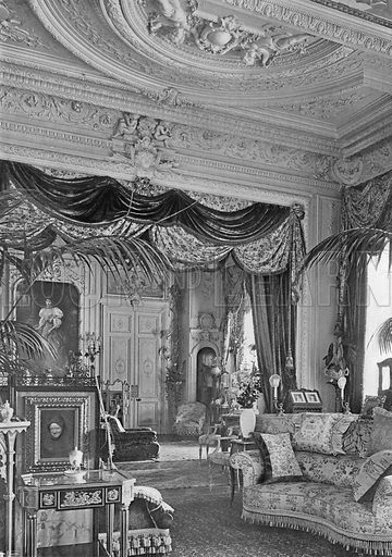 The Principal Drawing-Room. Photograph in In English Homes Vol 1 (Country Life, 1904).