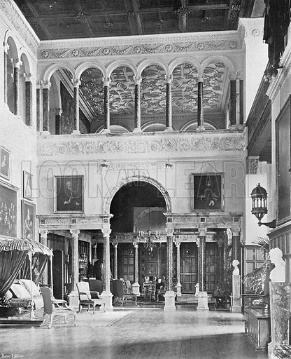 The South End of the Great Hall. Photograph in In English Homes Vol 1 (Country Life, 1904).