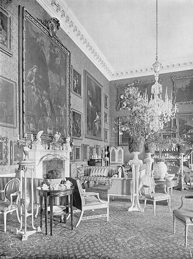 The Picture Gallery. Photograph in In English Homes Vol 1 (Country Life, 1904).