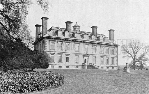 Coleshill House. Photograph in In English Homes Vol 1 (Country Life, 1904).