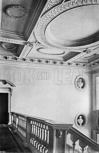 The Gallery of the Hall. Photograph in In English Homes Vol 1 (Country Life, 1904).