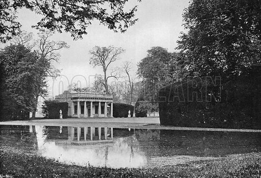 The Banqueting-House. Photograph in Gardens Old and New Vol III (Country Life, c 1910).