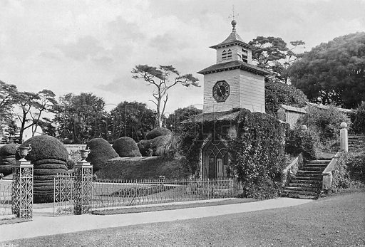 The Entrance Gate. Photograph in Gardens Old and New Vol III (Country Life, c 1910).