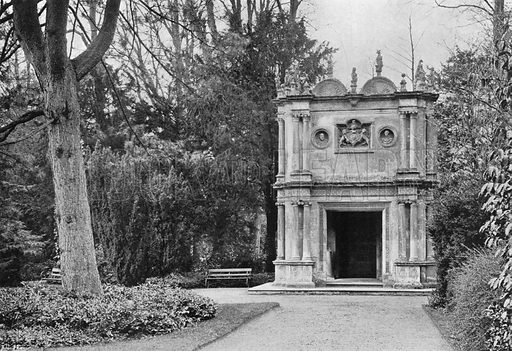 The Holbein Garden-House. Photograph in Gardens Old and New Vol III (Country Life, c 1910).