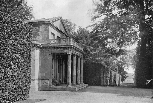 The Chapel. Photograph in Gardens Old and New Vol III (Country Life, c 1910).