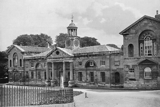 The Stables. Photograph in Gardens Old and New Vol III (Country Life, c 1910).