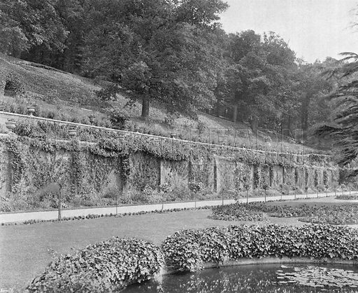 South Terraces. Photograph in Gardens Old and New Vol III (Country Life, c 1910).