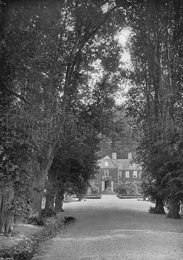 The Avenue. Photograph in Gardens Old and New Vol III (Country Life, c 1910).