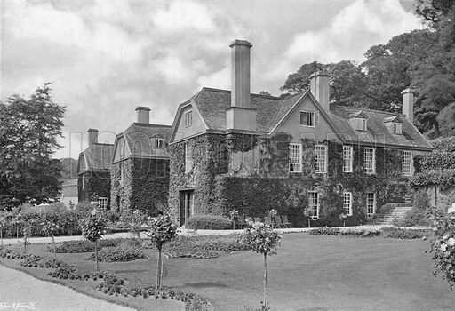 The Three Gables. Photograph in Gardens Old and New Vol III (Country Life, c 1910).