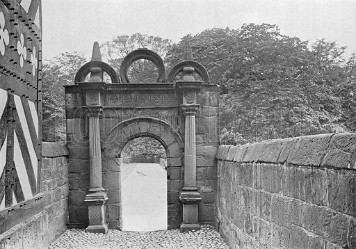 Gateway to the Garden. Photograph in Gardens Old and New Vol III (Country Life, c 1910).
