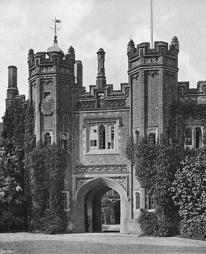 The Towers. Photograph in Gardens Old and New Vol III (Country Life, c 1910).