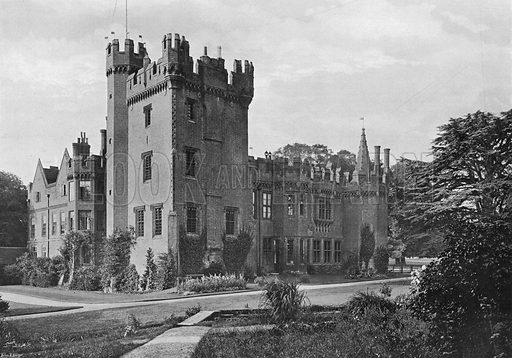 The North-East Corner. Photograph in Gardens Old and New Vol III (Country Life, c 1910).