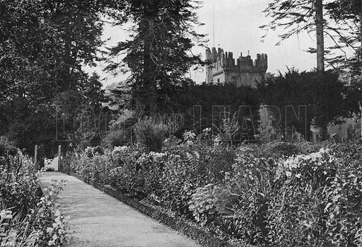 The Kitchen Garden. Photograph in Gardens Old and New Vol III (Country Life, c 1910).