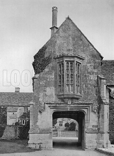 The Gatehouse. Photograph in Gardens Old and New Vol III (Country Life, c 1910).