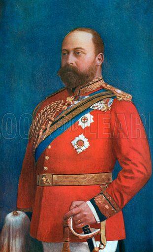 King Edward in the Prime of Life. Illustration for King Edward VII (Gresham, 1910).
