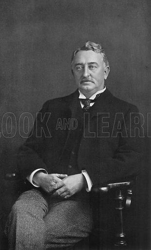 The Right Hon. Cecil John Rhodes. Illustration for King Edward VII (Gresham, 1910).