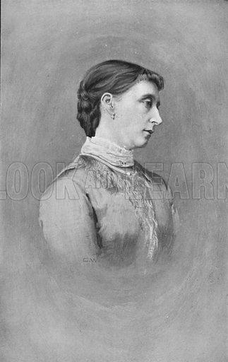 Princess Alice, Grand Duchess of Hesse-Darmstadt. Illustration for King Edward VII (Gresham, 1910).
