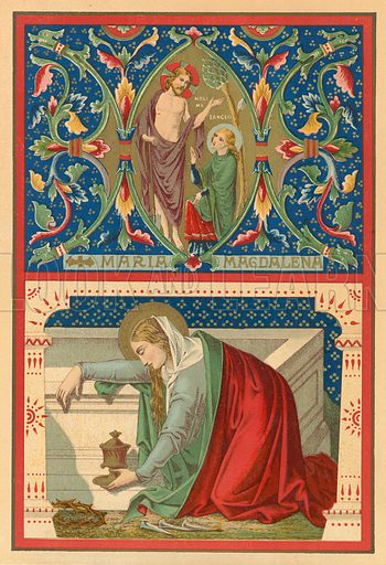 Mary Magdalene, picture, image, illustration