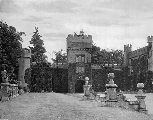 The Gatehouse. Photograph for In English Homes Vol II (Country Life, 1907).