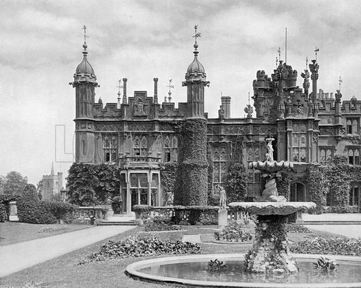 West End of South-West Front. Photograph for In English Homes Vol II (Country Life, 1907).