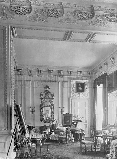 East Drawing-Room. Photograph for In English Homes Vol II (Country Life, 1907).