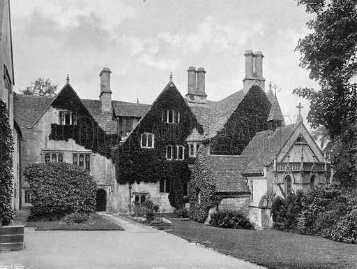 The West Front. Photograph for In English Homes Vol II (Country Life, 1907).