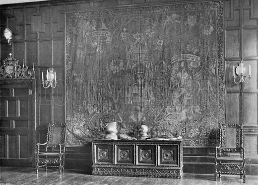 East Side of Drawing-Room. Photograph for In English Homes Vol II (Country Life, 1907).