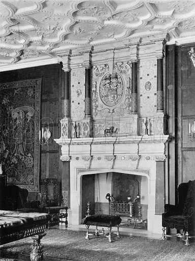 In the Drawing-Room. Photograph for In English Homes Vol II (Country Life, 1907).