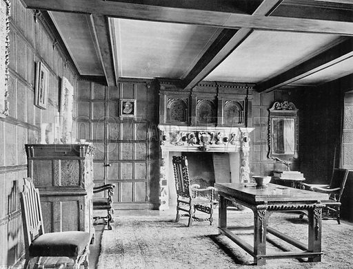 The Morning Room. Photograph for In English Homes Vol II (Country Life, 1907).