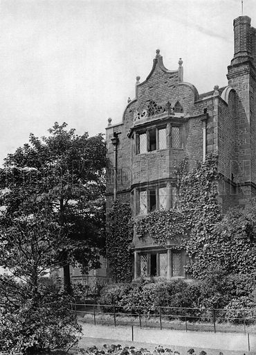 North-East Gatehouse. Photograph for In English Homes Vol II (Country Life, 1907).