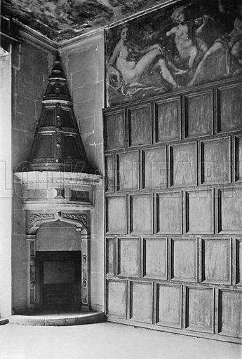 The Painted Ante-Room. Photograph for In English Homes Vol II (Country Life, 1907).