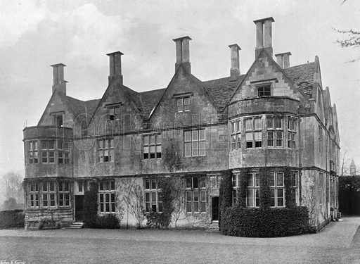 North-East Front. Photograph for In English Homes Vol II (Country Life, 1907).