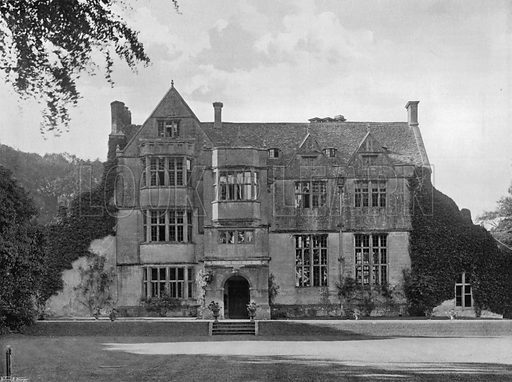 North Front. Photograph for In English Homes Vol II (Country Life, 1907).