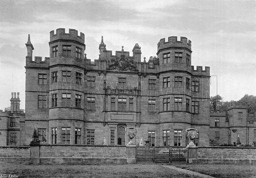 Methley Hall. Photograph for In English Homes Vol II (Country Life, 1907).