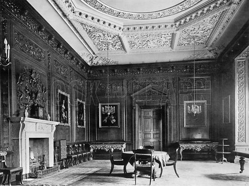 The Dining-Room. Photograph for In English Homes Vol II (Country Life, 1907).