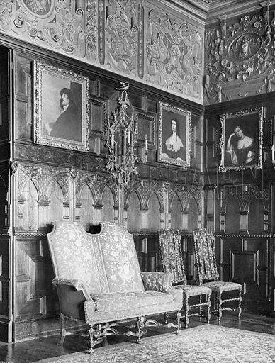 Corner of the Drawing-Room. Photograph for In English Homes Vol II (Country Life, 1907).