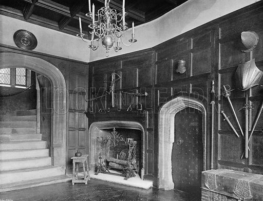 The King's Ante-Chamber. Photograph for In English Homes Vol II (Country Life, 1907).