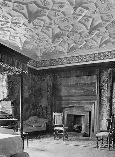 The Tapestry Room. Photograph for In English Homes Vol II (Country Life, 1907).