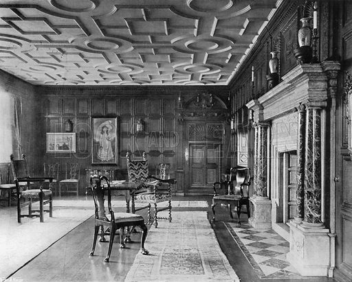 The Drawing-Room. Photograph for In English Homes Vol II (Country Life, 1907).
