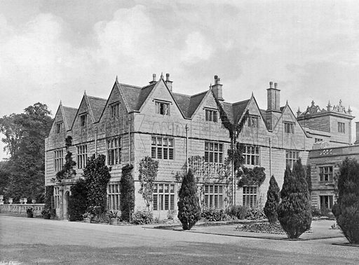 South-East Angle. Photograph for In English Homes Vol II (Country Life, 1907).