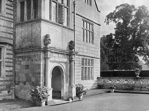 The Entry. Photograph for In English Homes Vol II (Country Life, 1907).