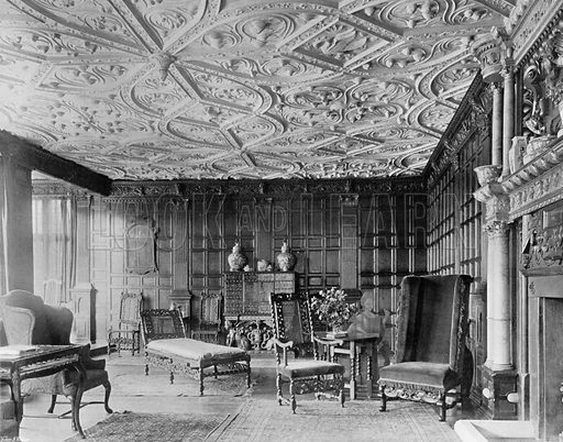 The Old Drawing-Room. Photograph for In English Homes Vol II (Country Life, 1907).
