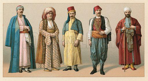 Turks, picture, image, illustration
