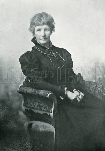 Photograph of Helen Allingham. Illustration for Happy England by Marcus B Huish (A & C Black, 1909).