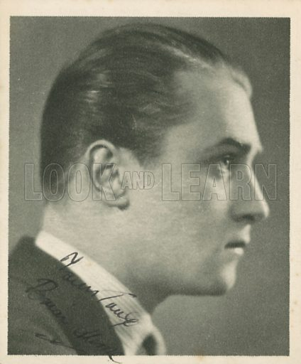 Brian Aherne. Who's who in British films.  Issued by the Spinnet House.  Early 20th century.
