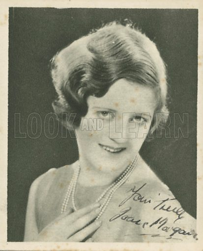Joan Morgan. Who's who in British films.  Issued by the Spinnet House.  Early 20th century.