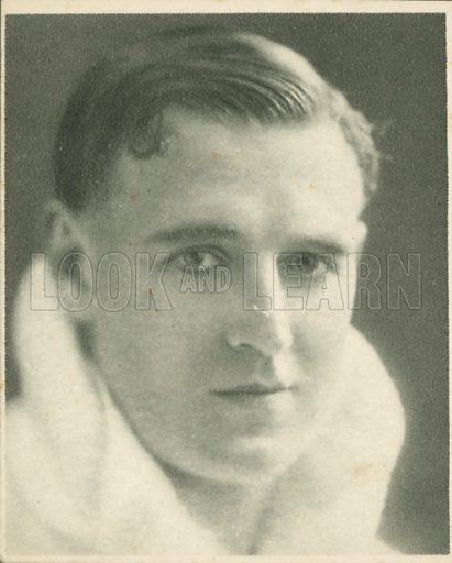 Rex Davis, M.C. Who's who in British films.  Issued by the Spinnet House.  Early 20th century.