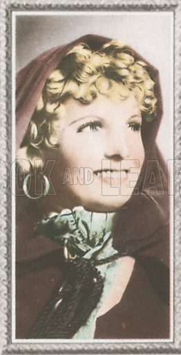 Anna Neagle. Stars of the screen.  Early 20th century card by Godfrey Phillips.