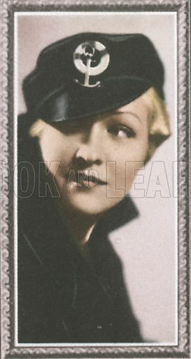 Laura La Plante. Stars of the screen.  Early 20th century card by Godfrey Phillips.